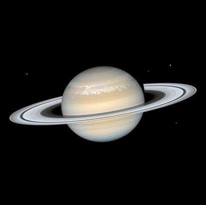transiting Saturn