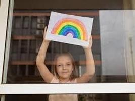 Covid 19 rainbow